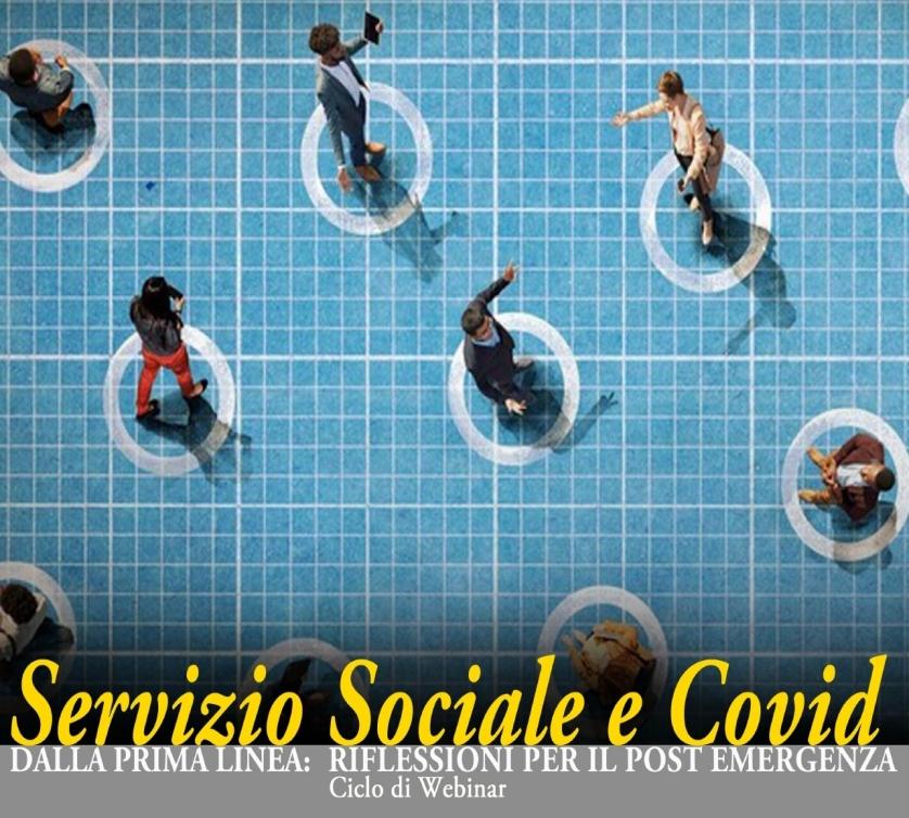 SERVIZI SOCIALI E COVID: domani il secondo webinar