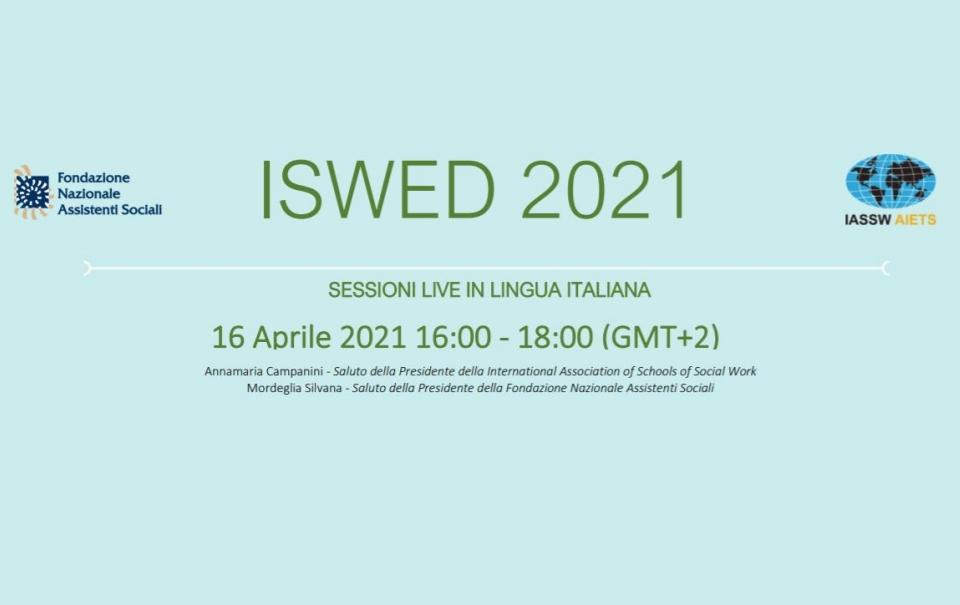 CONFERENZA ISWED 2021: la sezione in italiano venerdì in collaborazione con FNAS