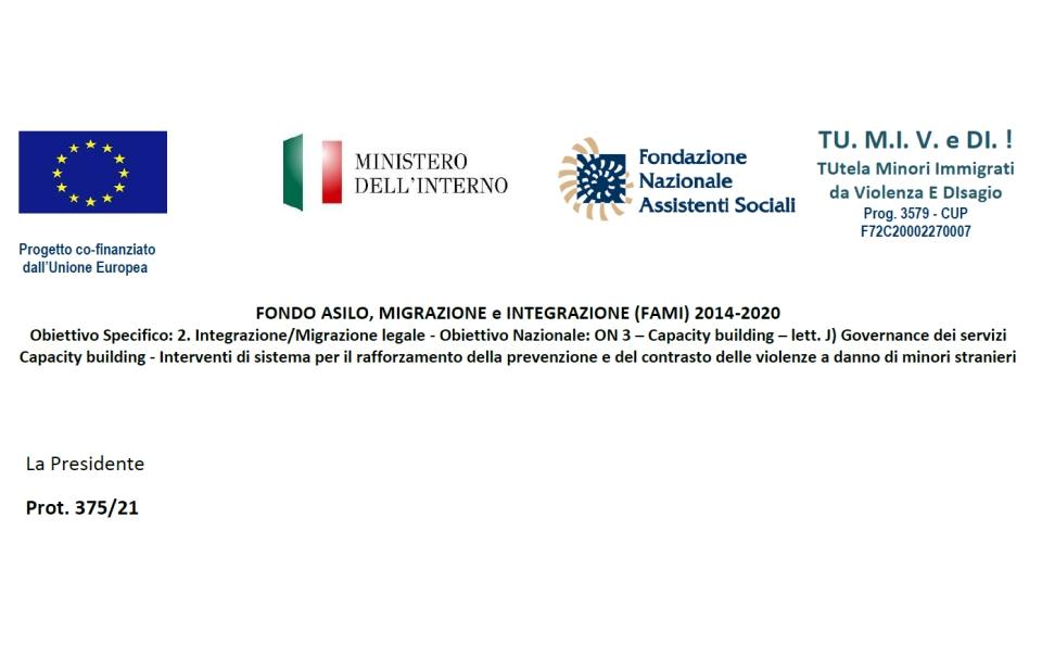 GRADUATORIA: FONDO ASILO, MIGRAZIONE e INTEGRAZIONE (FAMI) 2014-2020